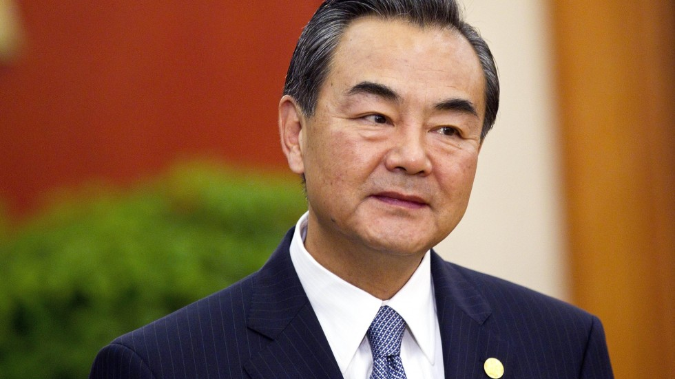 China Foreign Minister Wang Yi