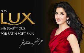 LUX Advertisement featuring Karina Kaif