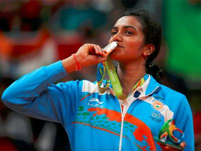Tweets on PV Sindhu winning Silver