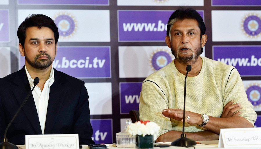 Anurag Thakur criticized Sandeep Patil