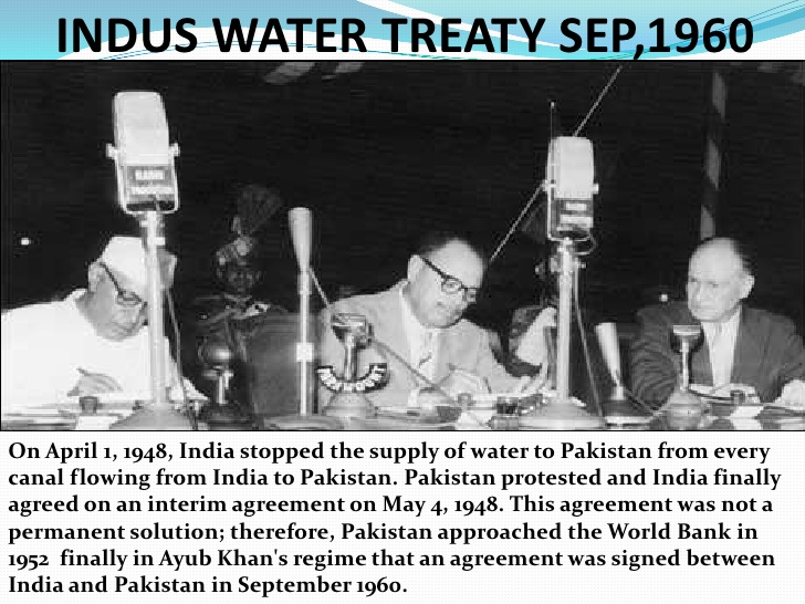 Indus Waters Treaty‬