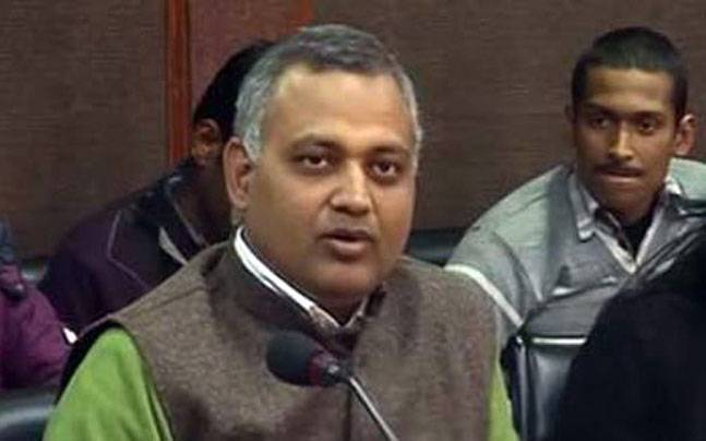 Somnath bharti got arrested