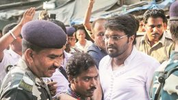 Babul Supriyo attacked in Asansol by TMC workers
