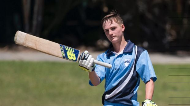 Austin Waugh son of Steve Waugh score ton in Cricket