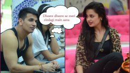 Bigg Boss 9 winner Prince Narula goes down on his knees for girlfriend Yuvika Chaudhary