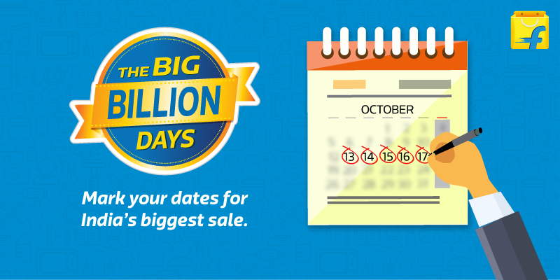 Flipkart Sale Offers Big Billion Day 2016