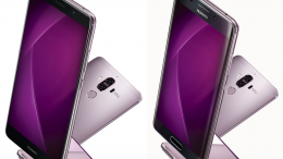 Huawei Mate 9, Mate 9 Pro in 'purple colour'