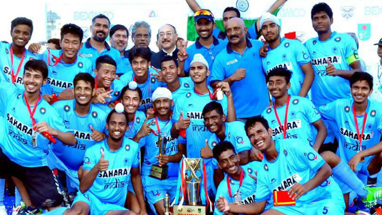 India wins U18 Asia Cup hockey