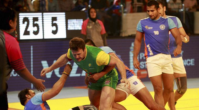 India wins against Bangladesh in Kabaddi world cup