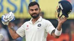Kohli scores second Test double-century