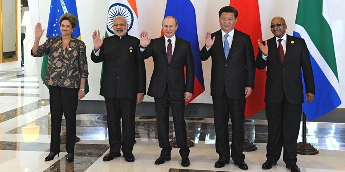 Leaders at 8th BRICS Summit Goa