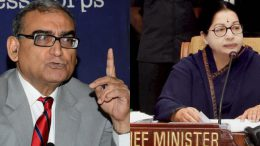 Markandey Katju is in love with fearless Sherni Jayalalithaa