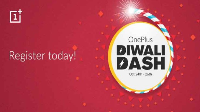 OnePlus to offer Re 1 Diwali Dash Sale