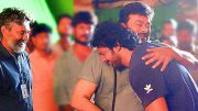 Prabhas and SS Rajamouli meet Chiranjeevi on Khaidi No. 150 sets
