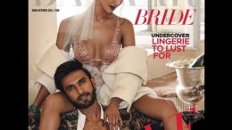 Ranveer Singh Vani Kapoor steamy photoshoot for magazinecover