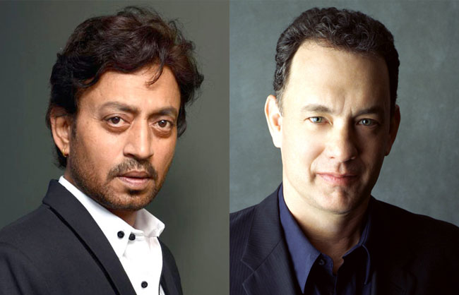 Tom Hank and Irrfan Khan in Inferno
