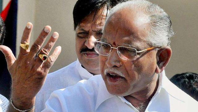 bs-yeddyurappa_gets clean chit from CBI