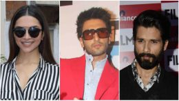 Ranveer, Deepika and Shahid teamed for 'Padmavati'