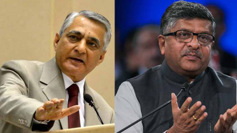 CJI TS Thakur Vs Ravi Shankar Prasad Dispute in public over delay in naming judges