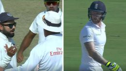 India Vs england Virat Kohli and Ben Stokes got into war of words