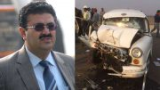 Navneet Sehgal Principal secretary of UP's info dept injured in car accident
