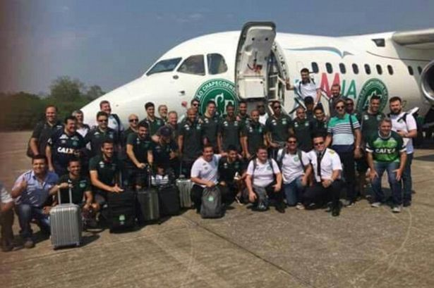 Colombia plane crash: 71 dead and six survivors on flight carrying Chapecoense Brazil football team