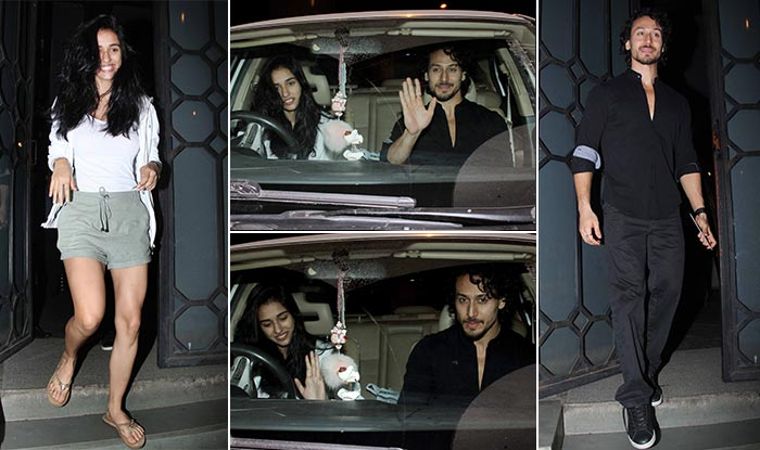 Tiger Shroff and Disha Patani went out on a dinner date