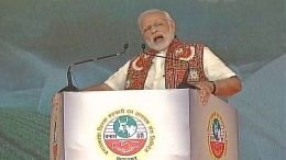 At the Deesa rally, PM Modi strongly defended his government's decisionon demonetization