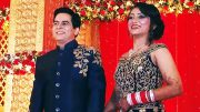 SEE PICS Aman Verma and Vandana Lalwani's wedding reception