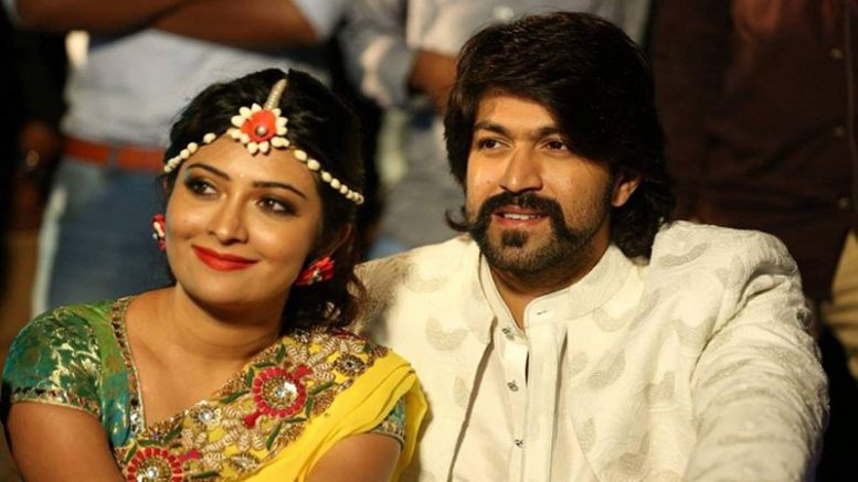 See wedding Pics Kannada actors Yash and Radhika Pandit