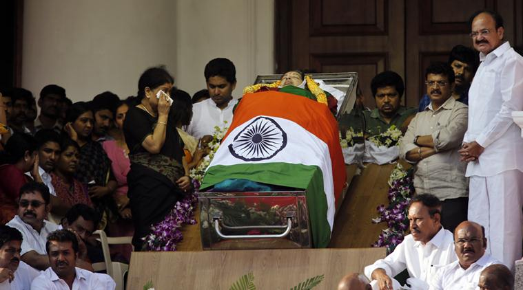 AIADMK leader Jayalalithaa passed away
