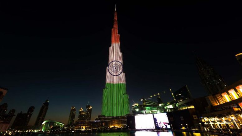 Republic Day Burj Khalifa