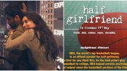 Half Girlfriend poster Arjun Kapoor- Shraddha Kapoor are Drenched in Love