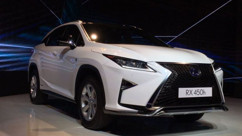 Toyota Lexus RX 450h Launched In India; Priced At ₹ 1.07 crore