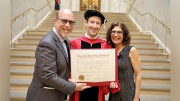 Mark Zuckerberg graduates from Harvard University