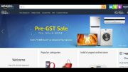 Pre GST Amazon Sales Top offers include Samsung, Sony TVs, Home Theatres, Speakers and other home appliances