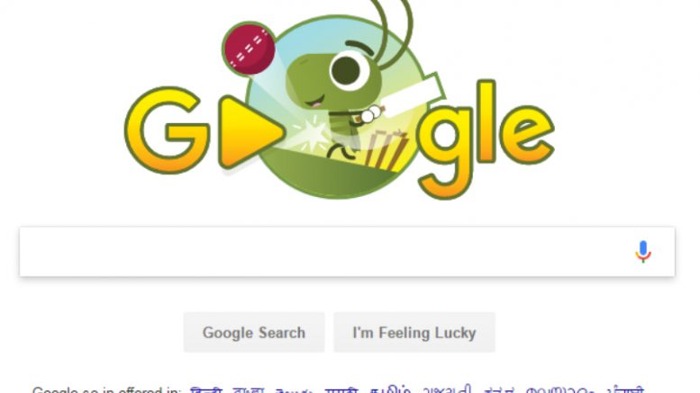 ICC Champions Trophy 2017: Google Celebrates Start Of Tournament With A Doodle