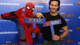 Spiderman is a dream come true, says Tiger Shroff