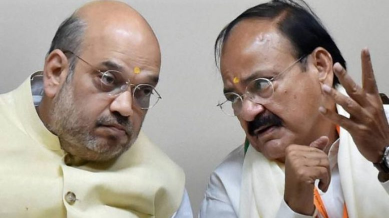 Ahead of vice presidential polls, Congress attacks Venkaiah Naidu with corruption allegations