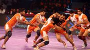 Pro Kabaddi 2017: Strong defence keeps Gujarat Fortunegiants unbeaten