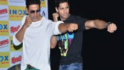 Akshay Kumar promotes Sidharth Malhotra's A Gentleman outside a toilet, watch video