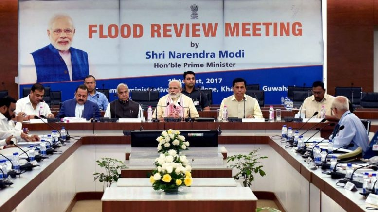 Prime Minister Modi announces immediate aid of Rs 500 crore for flood-hit Bihar