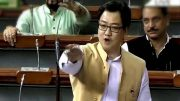 Kiren Rijiju:Govt to fund 'permanent solution' to floods in Northeast