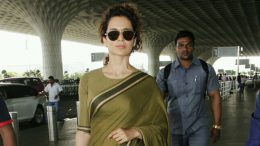Fashion trends is back,Kangana Ranaut's sari look reminds us of Indira Gandhi