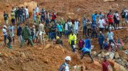 Sierra Leone mudslide:Nearly 400 bodies recovered,toll expected to rise