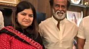 BJP: Poonam Mahajan meets Rajinikanth at his residence