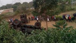 Samba road accident 4 killed, 31 injured