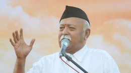 Defying Kerala govt order, RSS chief Mohan Bhagwat hoists flag at school