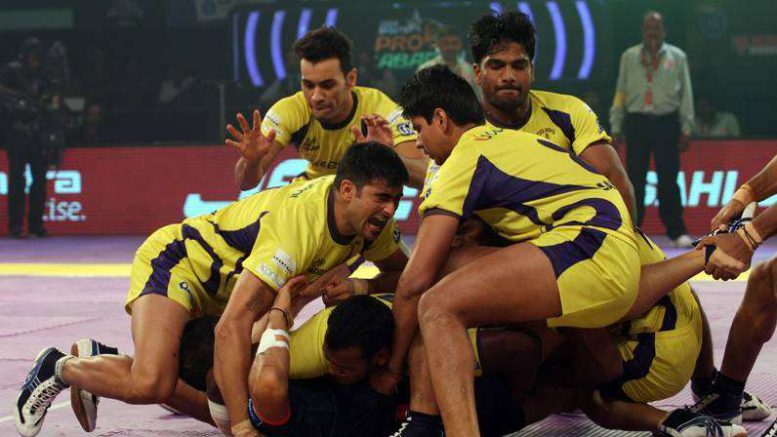 Pro Kabaddi 2017: Horrific home run continues for Telugu Titans