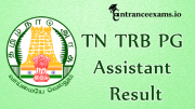 TRB PG assistant exam 2017